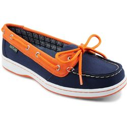 Detroit Tigers Womens Boat Shoes by Eastland