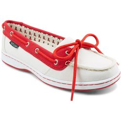 Los Angeles Angels Womens Boat Shoes