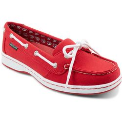 Washington Nationals Womens Boat Shoes by Eastland
