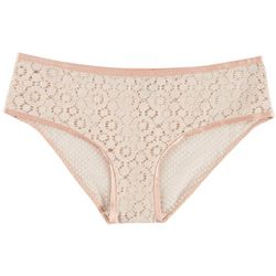 Wurl Juniors Medallion Lace Hipster Panties P156798