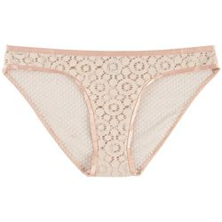 Wurl Juniors Medallion Lace Bikini Panties P136798