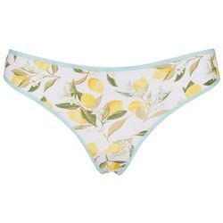 Wurl Juniors Cotton Spandex Thong Panties BE12206