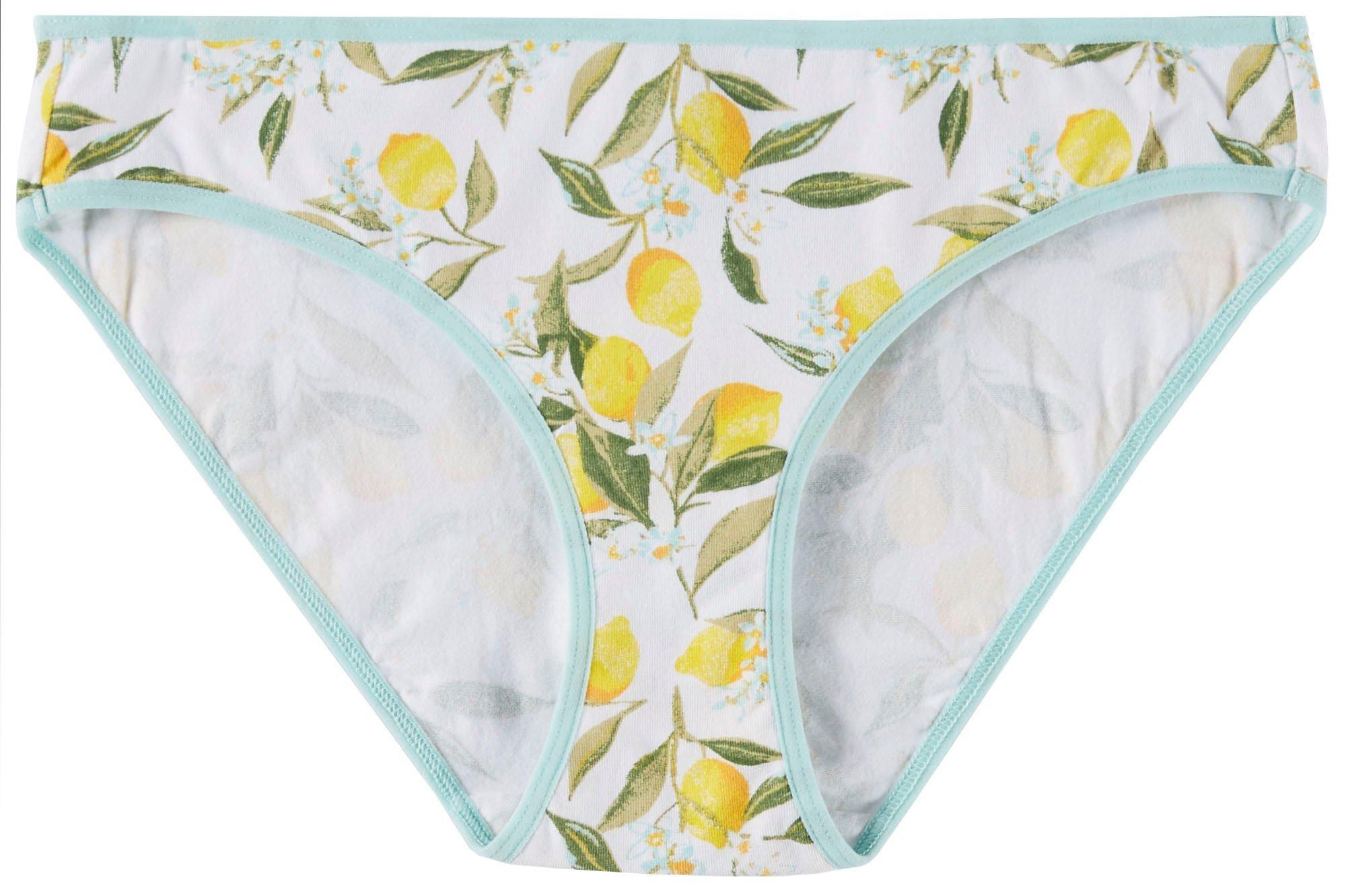 Wurl Juniors Cotton Spandex Thong Panties BE12206