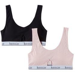 Kensie 2-pk.  Logo Banded Comort Bralettes 2PKBRA1454
