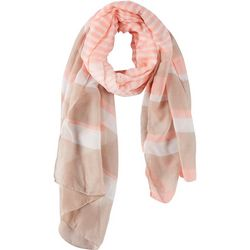 Insect Shield Womens Striped Scarf