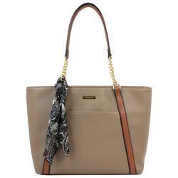 London Fog Allie Double Shoulder Tote Handbag