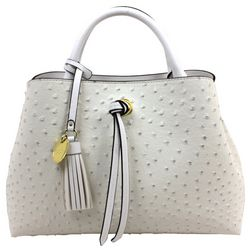 London Fog Isabel Textured Satchel Handbag