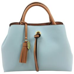 London Fog Isabel Triple Satchel Handbag
