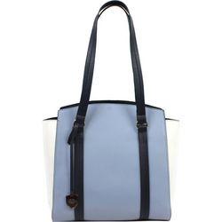 London Fog Tri Tone Sammy Shopper Handbag