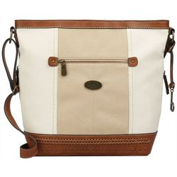 B.O.C. Fanning Colorblock Crossbody Handbag