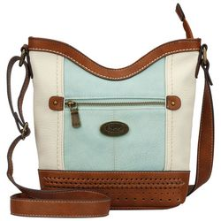 B.O.C. Fanning White Crossbody Handbag