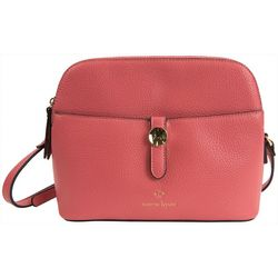 Nanette Lepore Arabelle Solid Tri-Section Crossbody Handbag