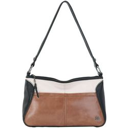 THE SAK Iris Three Tone Small Hobo Handbag