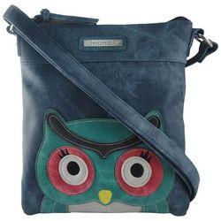 Unionbay Owl Face Crossbody Handbag