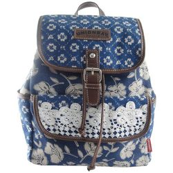 Unionbay Floral & Lace Backpack