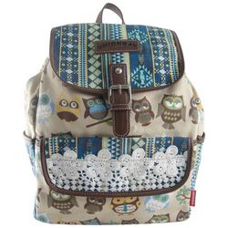 Unionbay Owl & Lace Backpack