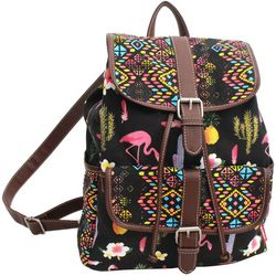 Unionbay Flamingo Front Pocket Backpack