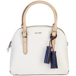 Nine West Carrigan Dome Satchel Handbag