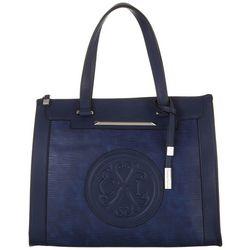 Christian LaCroix Aurore Textured Tote Handbag