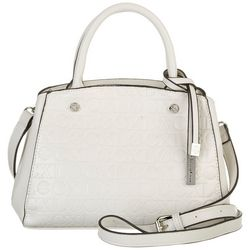 Christian LaCroix Anabelle Solid Embossed Satchel Handbag