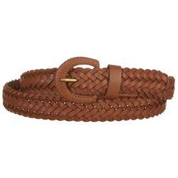 Fashion Focus Womens Tight Wrap Braided Belt