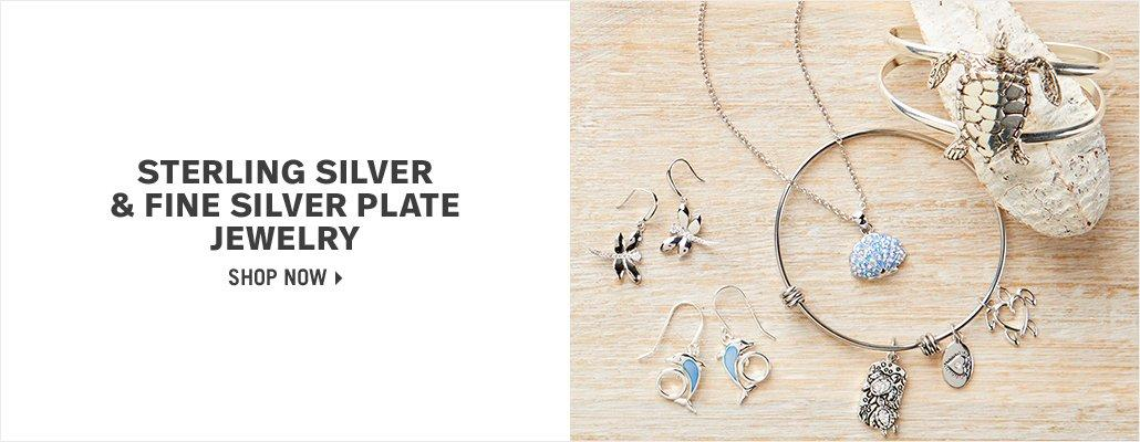 Sterling Silver & Fine Silver Plate Jewelry - Shop Now