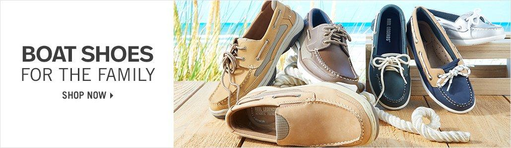 Boat Shoes for the Family - Shop Now