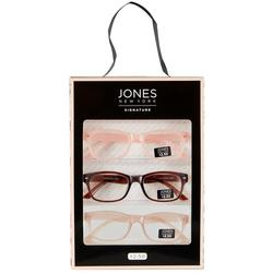 Womens 3 Pc. Rose Reading Glasses Set