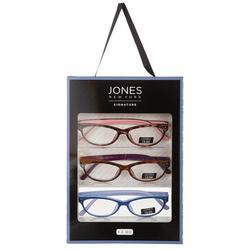 Womens 3-pk. Two Tone Reading Glasses