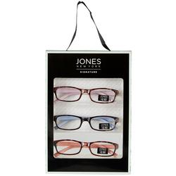 Womens 3 Pc. Tortoise Reading Glasses Set