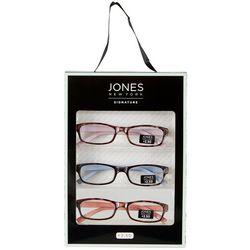 Jones New York Womens 3 Pc. Tortoise Reading Glasses Set