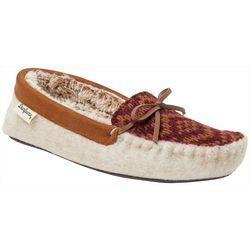 Dearfoams Womens Fairisle Moccasin Slippers