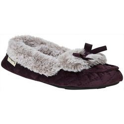 Dearfoams Womens Moccasin Slippers