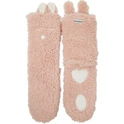 Dearfoams Womens Animal Flurry Slipper Socks
