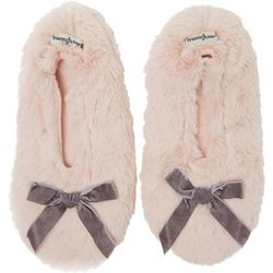 Dearfoams Womens Furry Toasty Slipper Socks