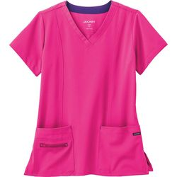 Jockey Womens Modern V-Neck Scrub Top