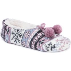 Muk Luks Womens Moonstone Ballerina Slippers