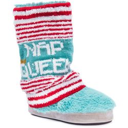 Muk Luks Womens Sofia Nap Queen Knit Slippers