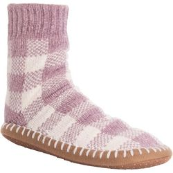 Dearfoams Womens Chenille Short Slipper Socks