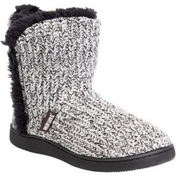 Muk Luks Womens Cheyenne Boot Slippers