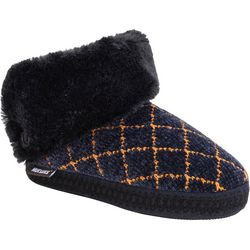Muk Luks Womens Della Boot Slippers