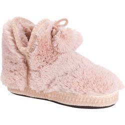 Muk Luks Womens Erina Bootie Slippers