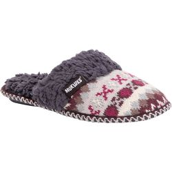 Muk Luks Womens Frida Scuff Slippers