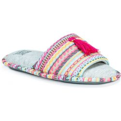 Muk Luks Womens Tassle Florence Slippers
