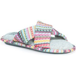Muk Luks Womens Magda Criss Cross Slippers