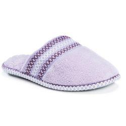 Muk Luks Womens Cathy Micro Chenille Clog Slippers