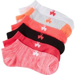 Under Armour Womens 6-pk. Big Logo No Show Socks
