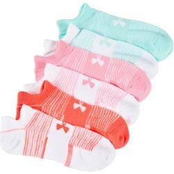 Under Armour Womens 6-pk. Essential Stripe No Show Socks