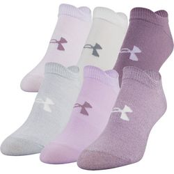 Under Armour Womens 6-pk. Essential No Show Socks