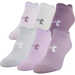 Womens 6-pk. Essential No Show Socks